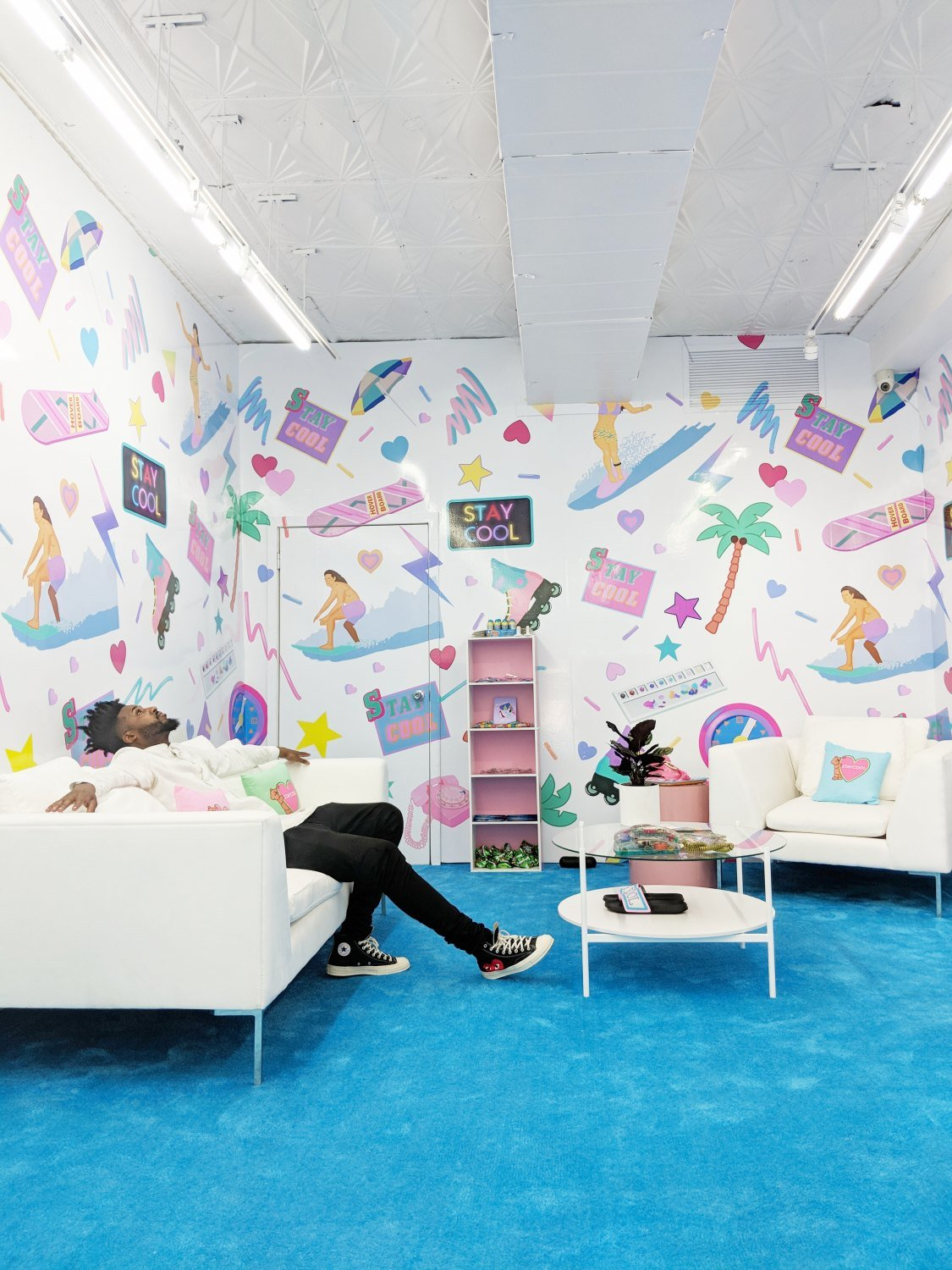 Pop Up Shop Ideas Example Photo #2: The Stay Cool NYC Pop Up @ 208 Bowery