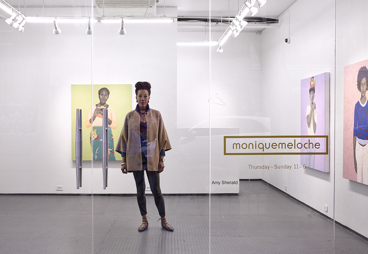 Monique Melcohe Pop-Up Gallery feat. artwork by Amy Sherald at 2 Rivington St.