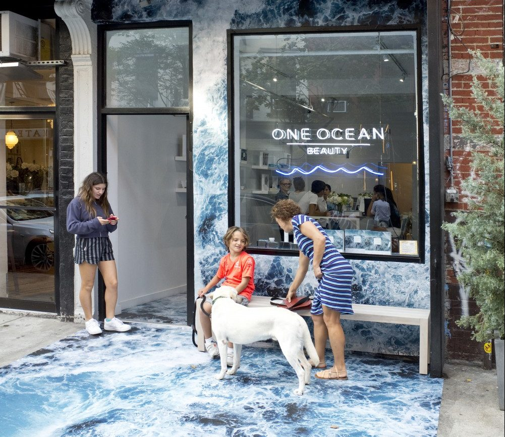 How much does a pop up store cost - One Ocean Beauty Example at Parasol Projects
